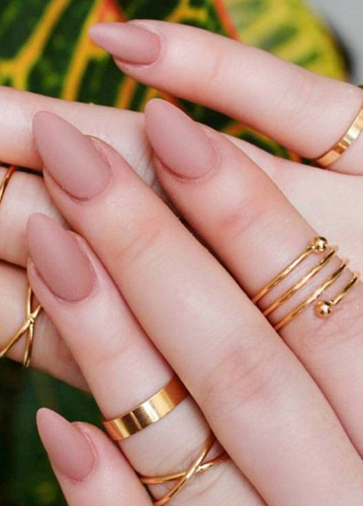 30 Best Press On Nails Diy 2018 For Beautiful Nail Hack Matte Nails Design Stiletto Nails Trendy Nails