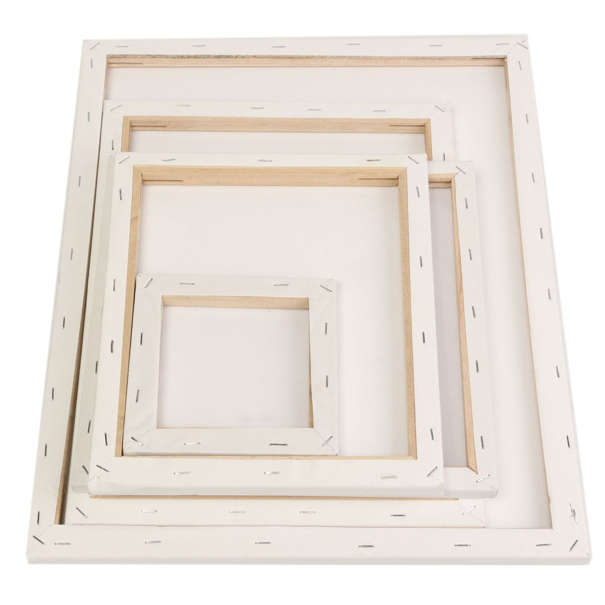 Wholesale price + Free shipping White Blank Square Canvas Painting ...