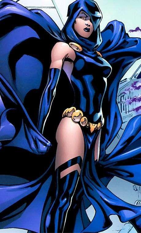 Stunning Female Comic Book Characters Ranked Raven Comics Female Comic Characters Female Dc Characters