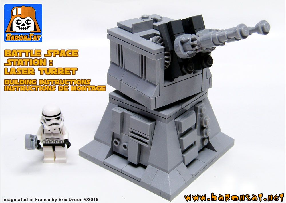 Laser Turret Cover Lego Starwars Pinterest Lego Lego Star And