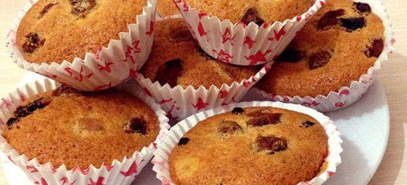 Kuru Meyveli Muffin Tarifi -Ev Yemeği Tarifleri