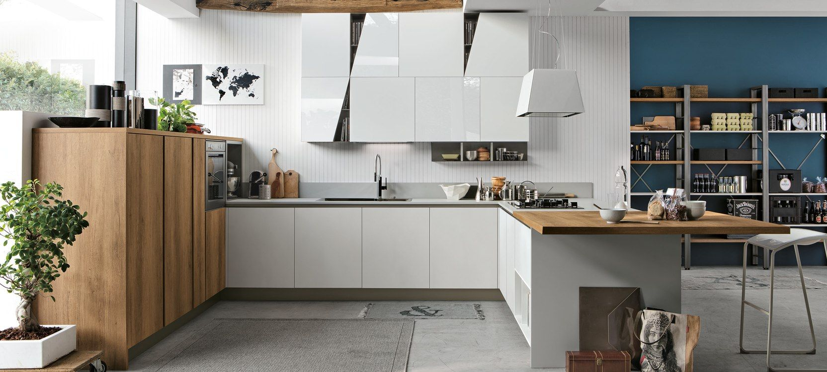 Stosa cucine - Infinity/Diagonal | Kitchen production factory ...