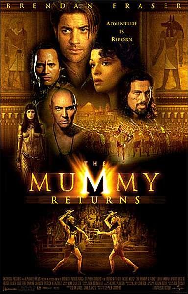 2001 Movies The Mummy Returns 2001 In Hindi Online Hindi