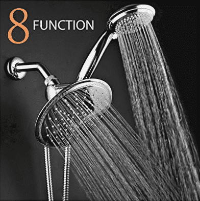 Top 10 Best Shower Heads In 2021 Reviews Buyer S Guide Best Handheld Shower Head Rainfall Shower Head Shower Heads