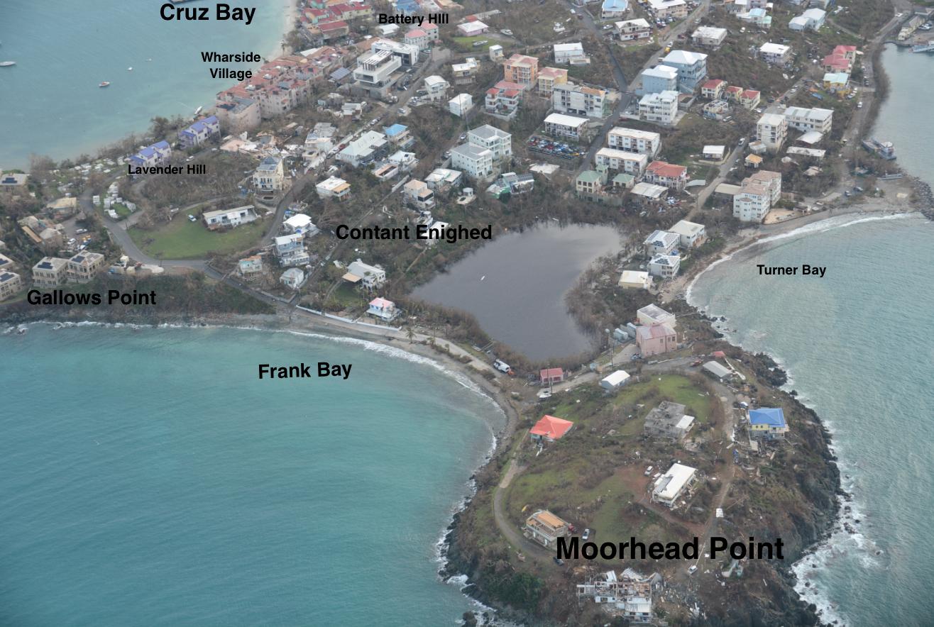 Hurricane Irma St John Us Virgin Islands Cruz Bay Us Virgin Islands Island