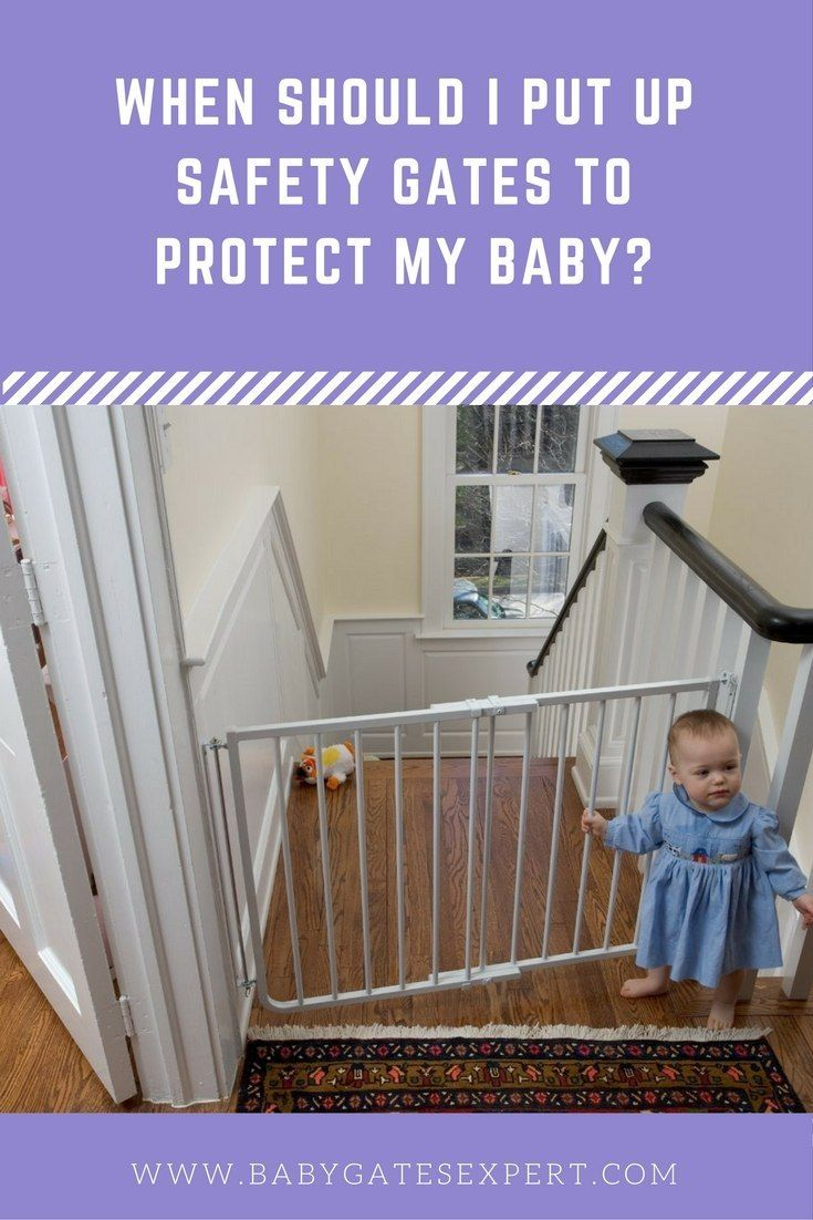 Your Guide To Timing When To Install And Remove Baby Gates Child Safety Gates Baby Safety Gate Baby Gates