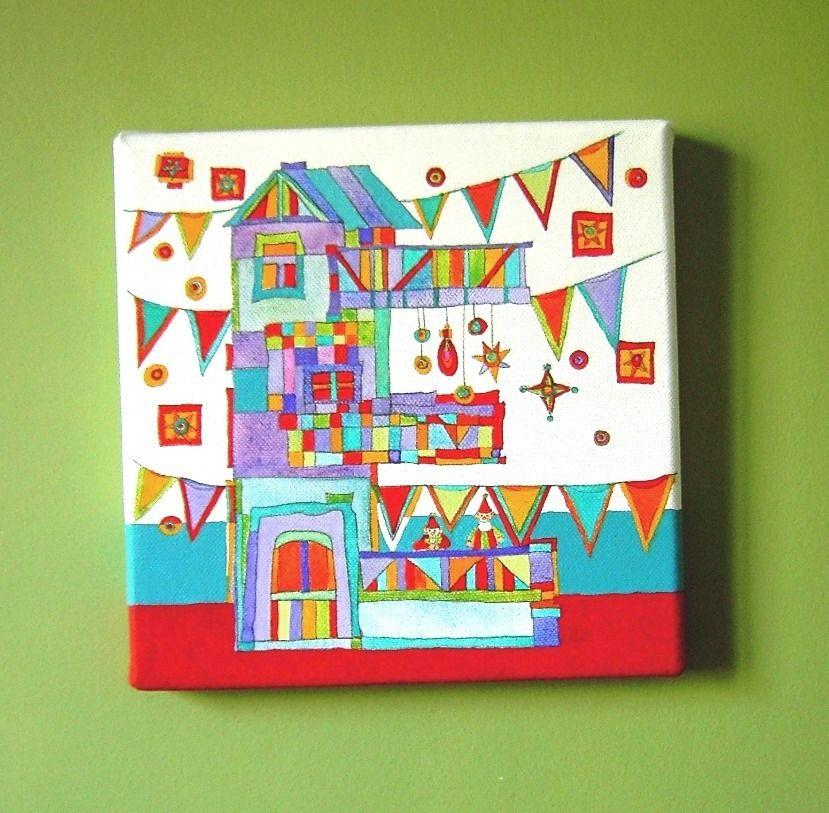 peinture acrylique enfant