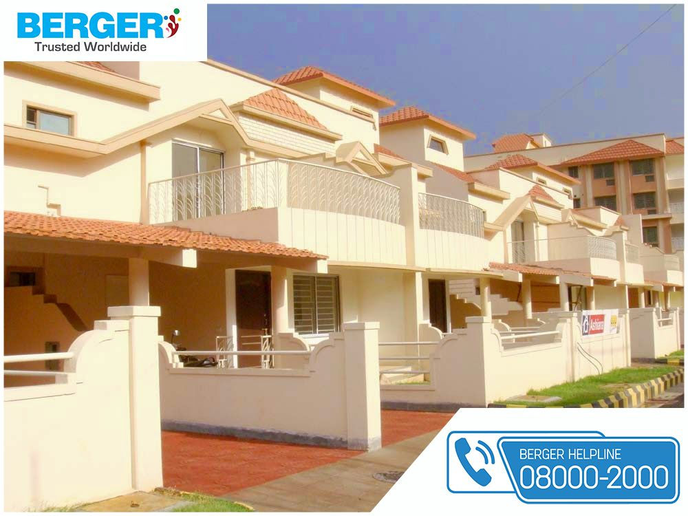 Paint Your House Exterior With Cream Color Berger Paint Bergerpaint Bergerpaintexterior