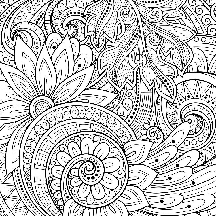 Pin de Terri Valentine en coloring | Pinterest | Mandalas, Colorear ...
