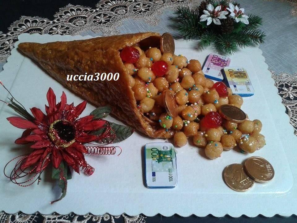 Dolci Natalizi Uccia3000.Un Dolce Per Natale E Capodanno Decisamente La Cornucopia