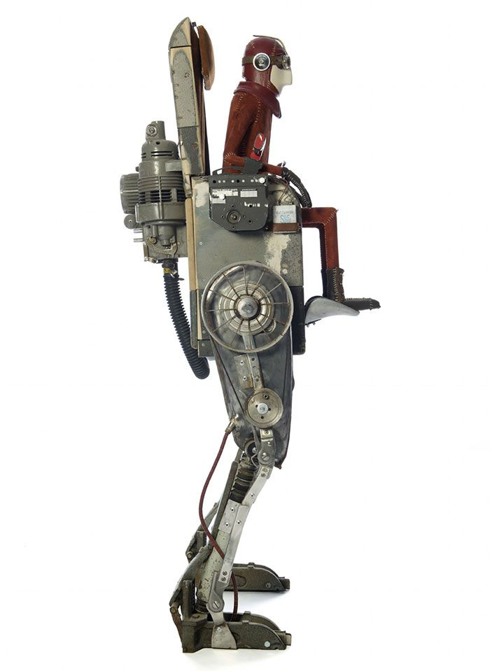 Steampunk Sculptures By Stephane Halleux Sculpture Steampunk Art Metal Art Projects