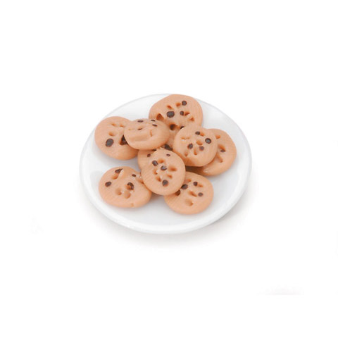 Miniature Chocolate Chip Cookie Tray With Cookies Chocolate Chip Cookies Chip Cookies Cookie Tray