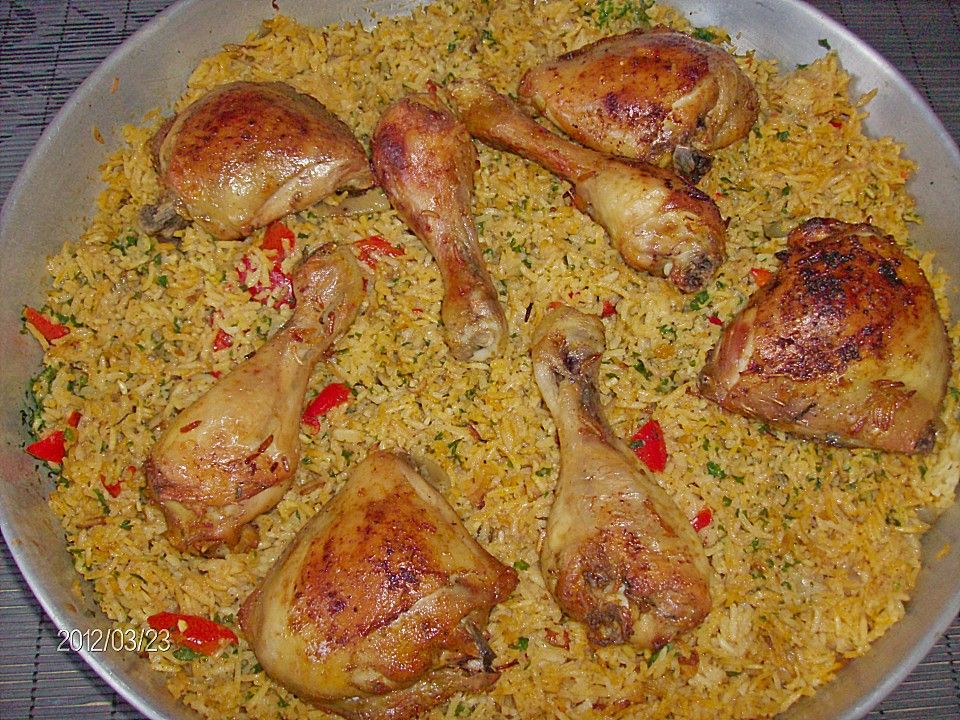 Photo of Chicken legs in rice from the oven by vgtre | chef