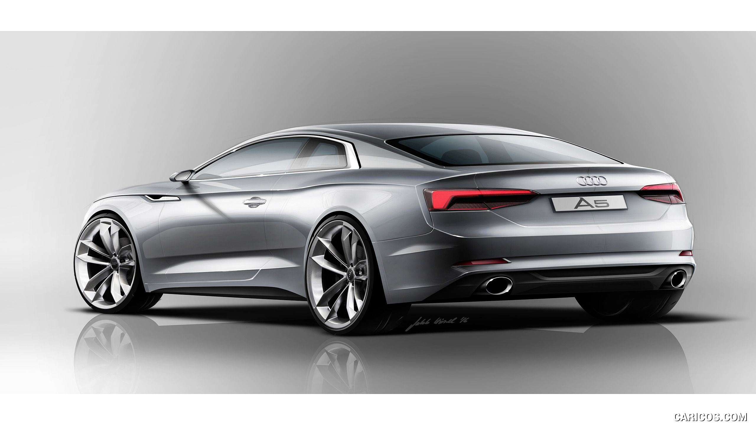 2018 audi a5 coup wallpaper transportation design sketches and renderings pinterest audi a5. Black Bedroom Furniture Sets. Home Design Ideas