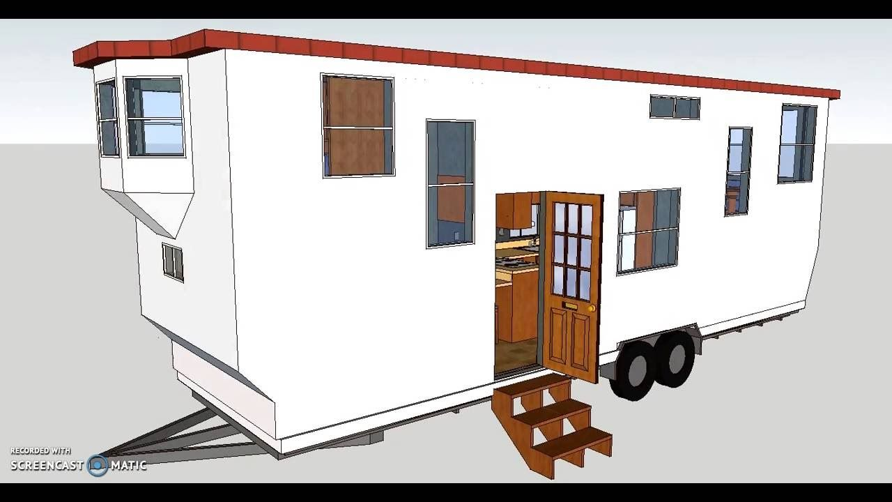 The Suite 30 Plus, Tiny House on wheels, Rockwood Sketchup design ...