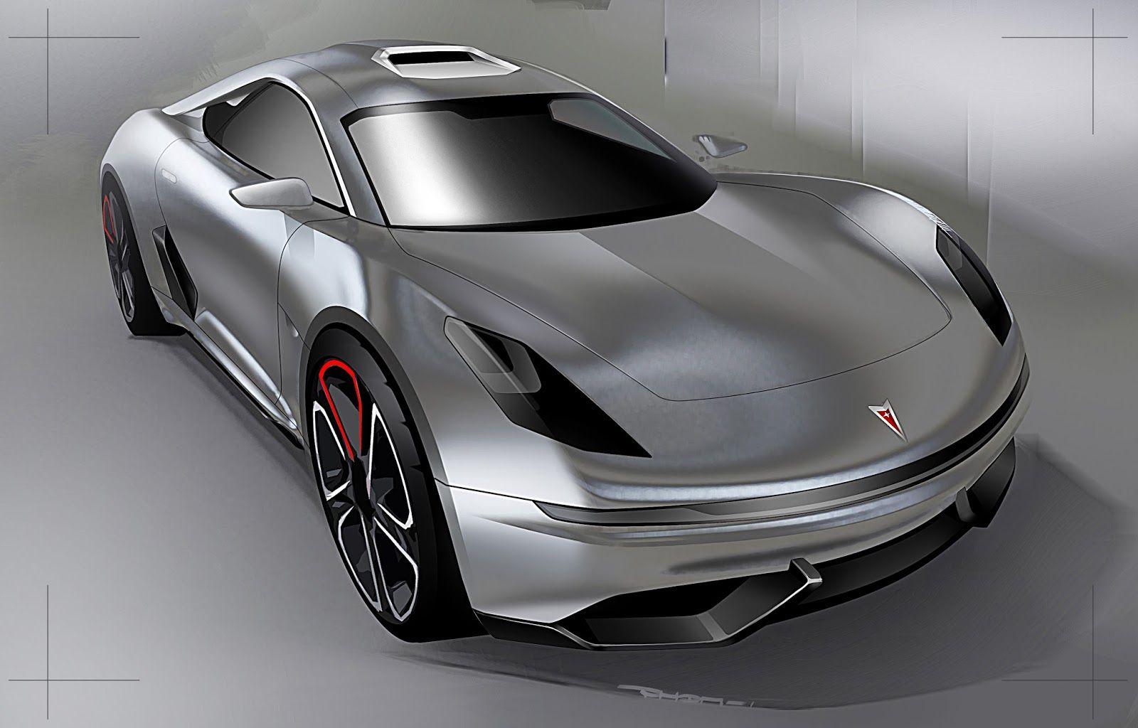 Davy Pomme New Fiero Original Sketches 3digital Sketch Car Pontiac Drawings