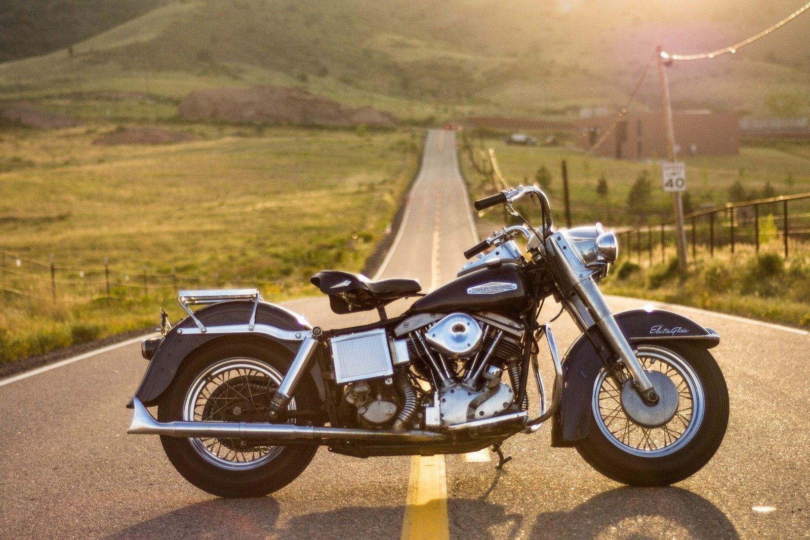 Used Harley Davidson Wheels >> Details About 1970 Harley Davidson Electra Glide Harley