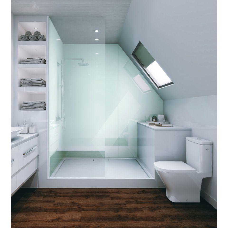 Multipanel Reflect From 321 75 Bathroom Shower Panels Bathroom Inspiration Bathroom Paneling