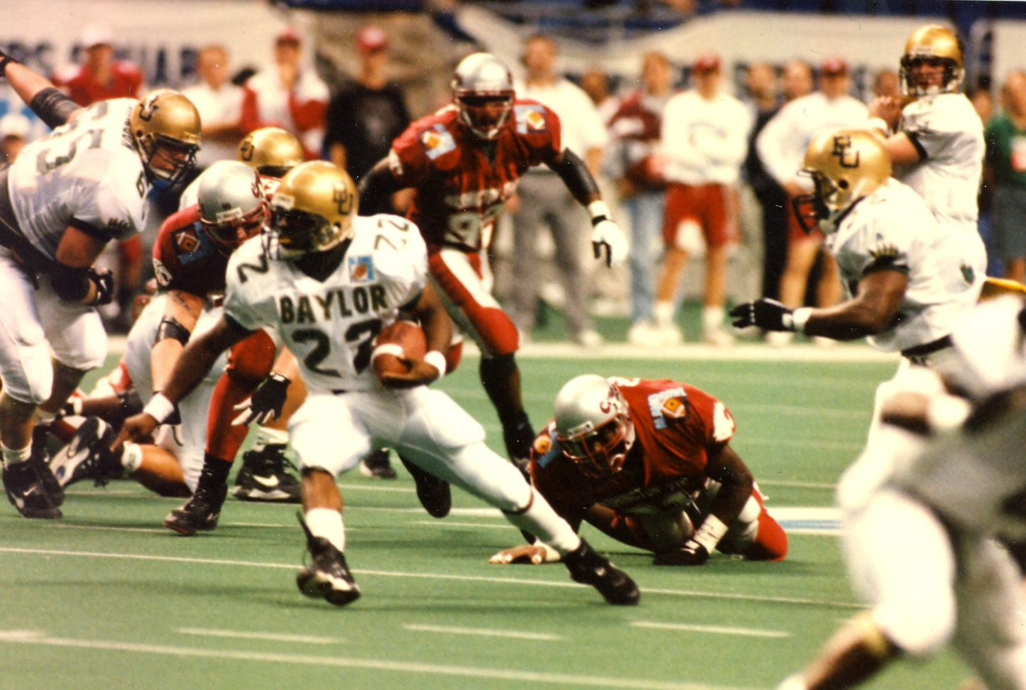 1994 Builders Square Alamo Bowl. Washington State 10 vs
