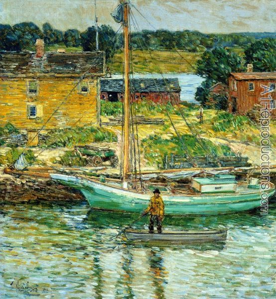 frederick childe hassam paintings - Google Search