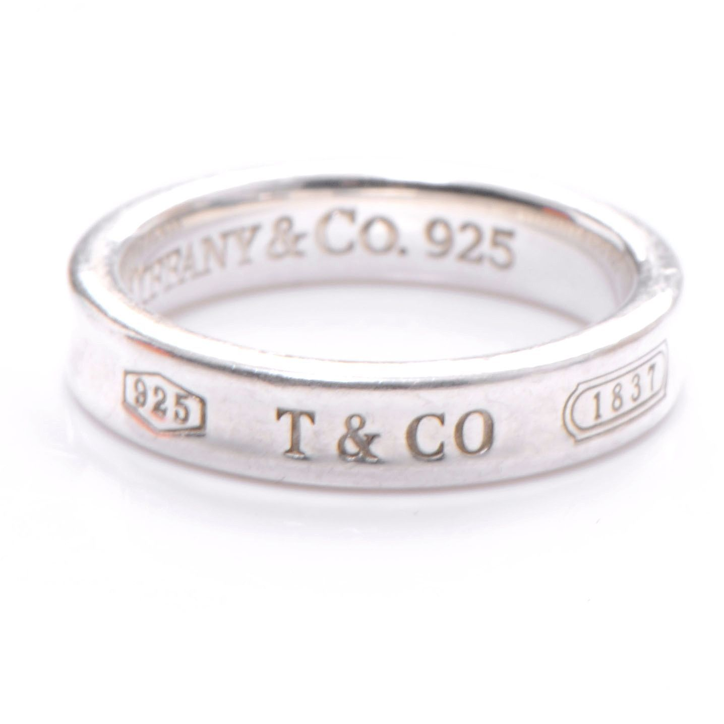 Tiffany and Co 1837 Sterling Silver Ring