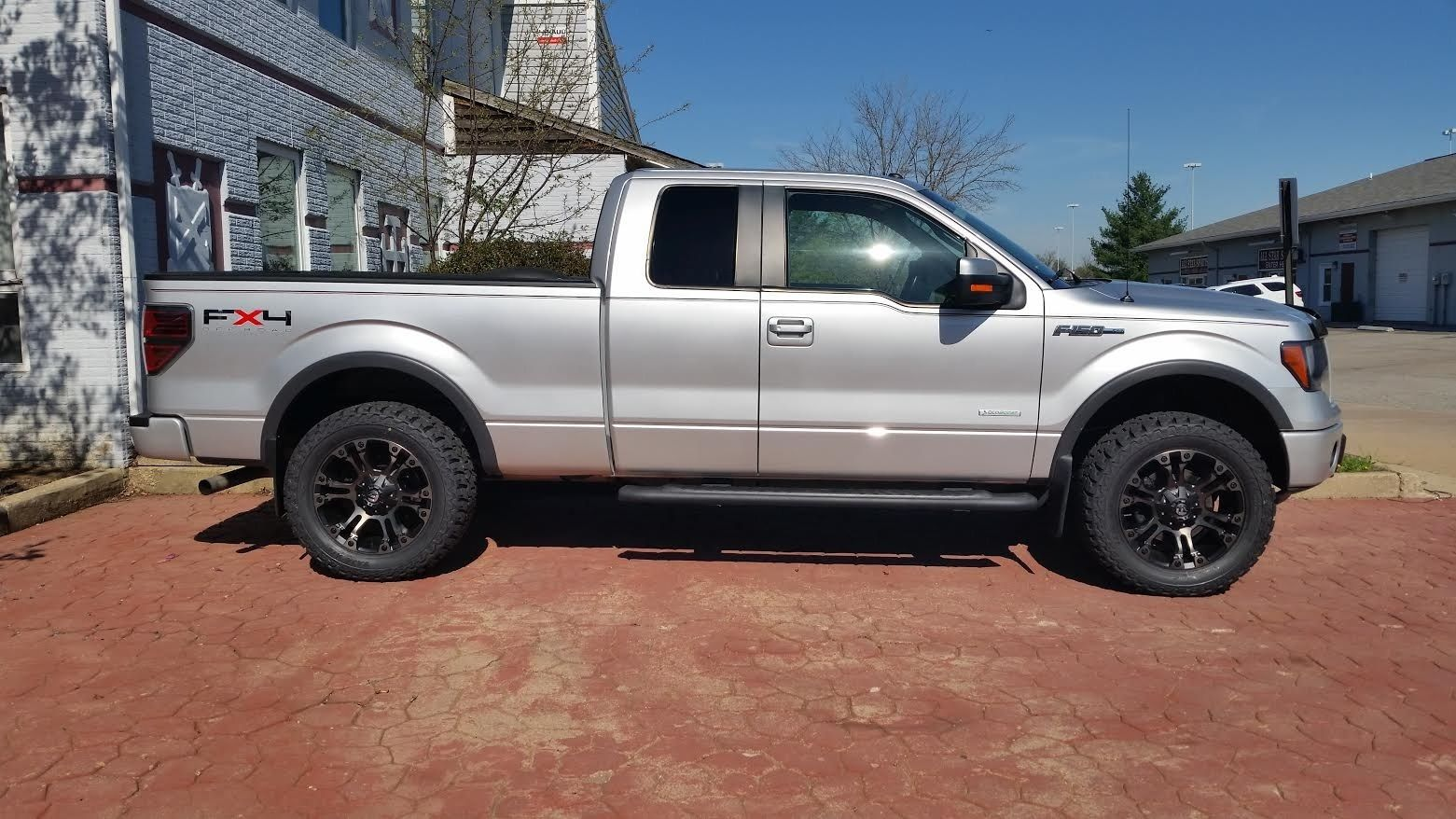 F150 fuel vapor rims and leveling kit
