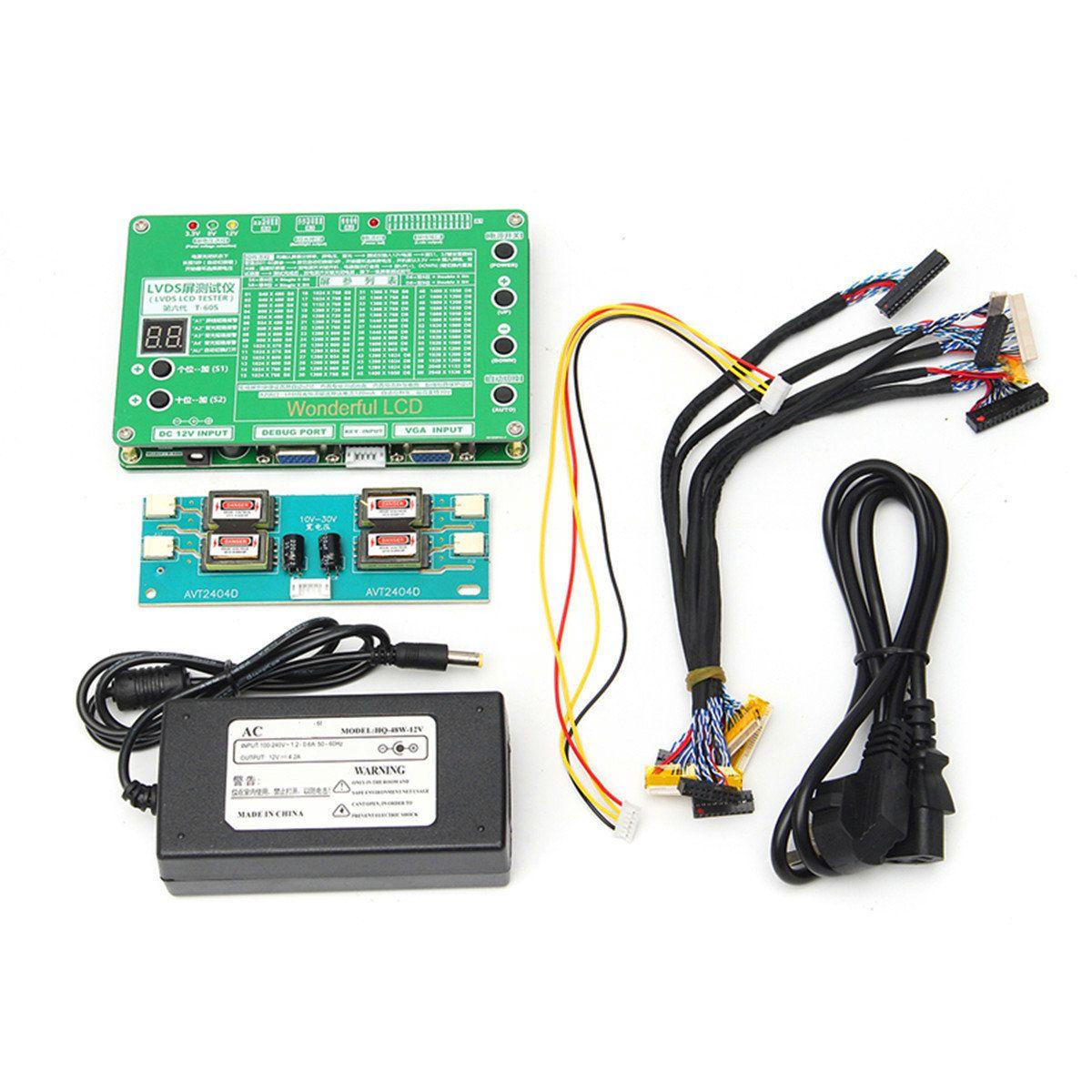 56 84inch Lvds Screen Tester Lcd Led Panel Tv Computer A830l Digital Multimeter Voltmeter Ammeter Ohm Ac Dc Circuit Volt Laptop Repair