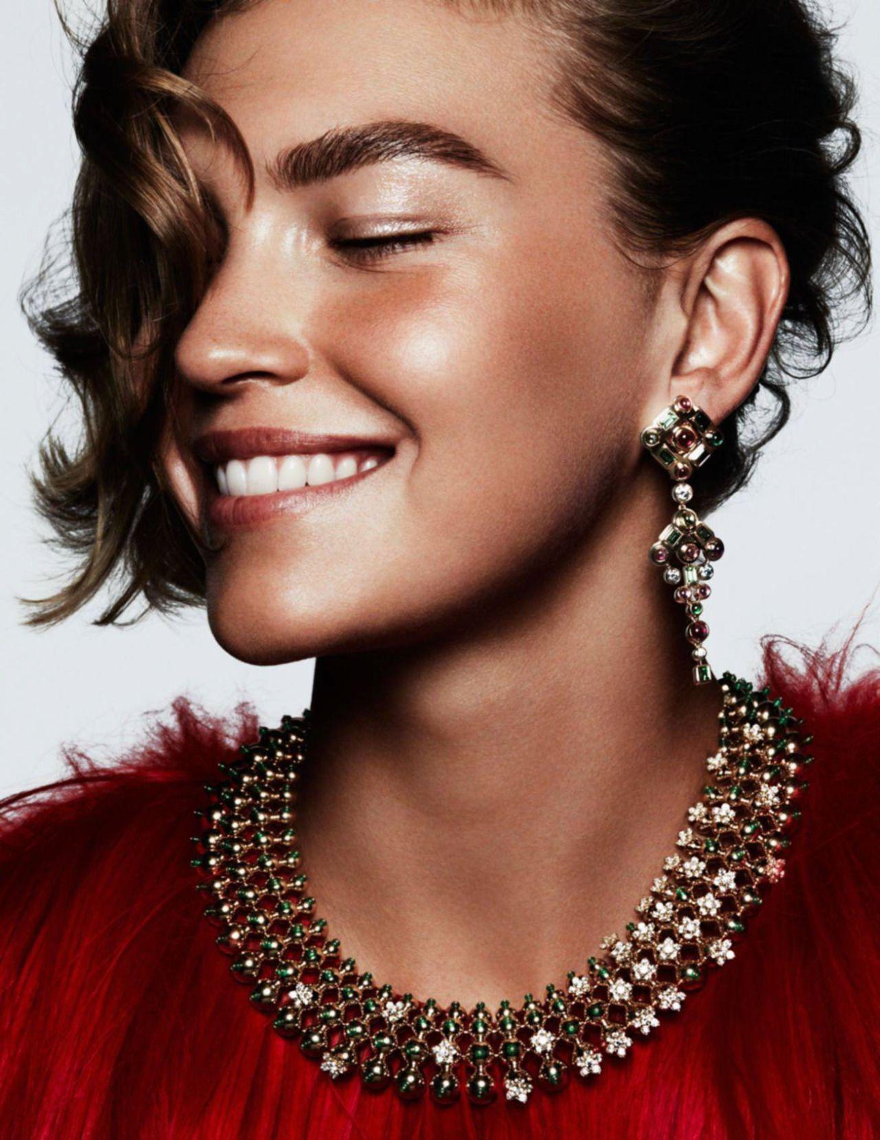 Fashion week Muse arizona for vogue paris for lady