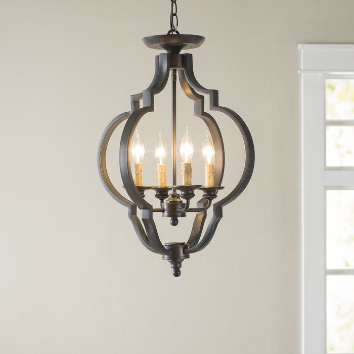 Cast a warm glow in the entryway or tie together your living room ensemble with this
