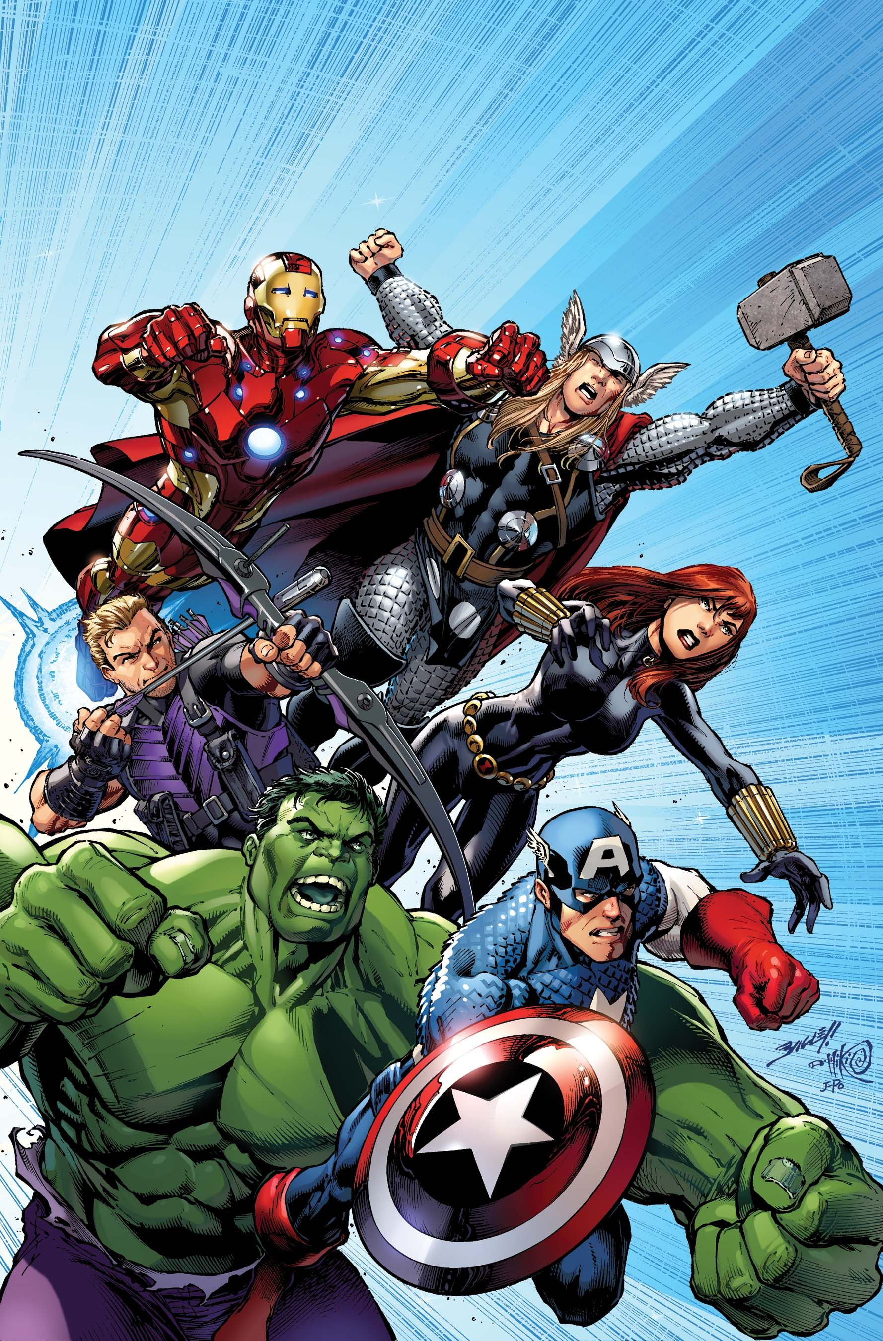 avengers assemble 1 story by brian michael bendis art cover by mark bagley variant