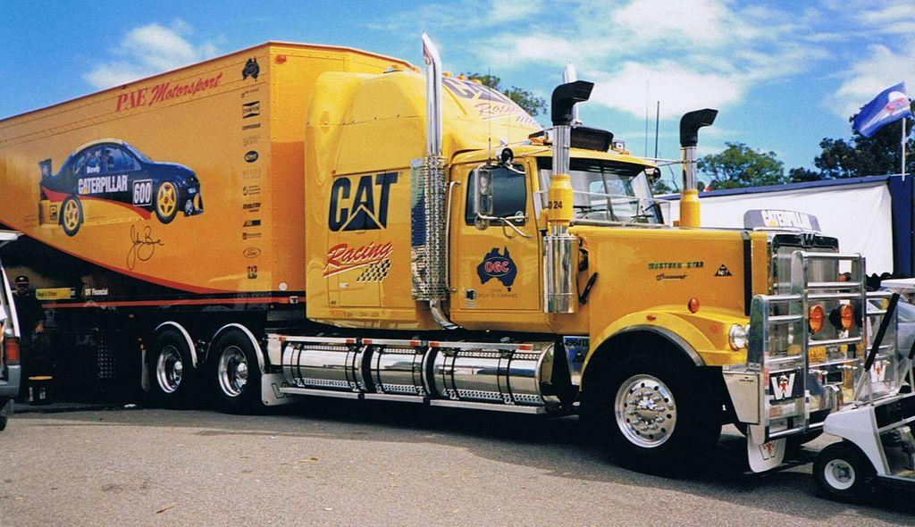 Western Star Pae Cat Motorsport Australia Pinned By Ton Van Der