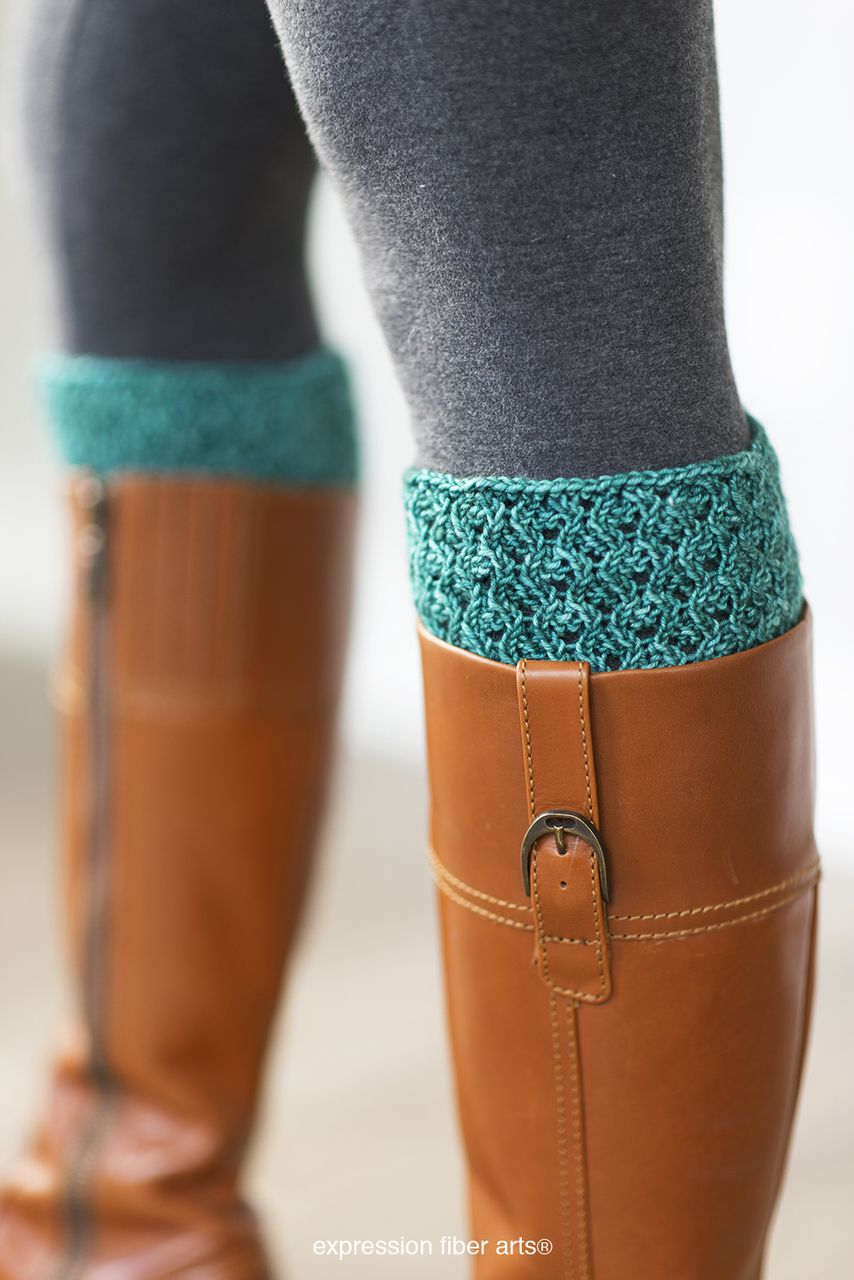 Danielle Knitted Boot Topper Pattern | Boot toppers, Expression ...