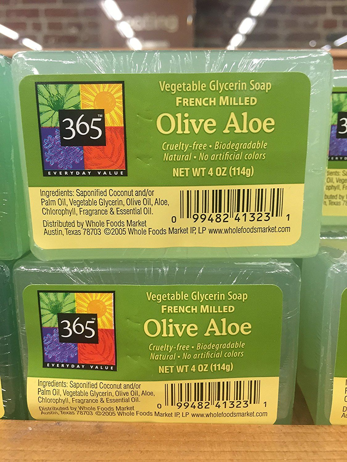 365 Everyday Value Vegetable Glycerin Soup French Milled Olive