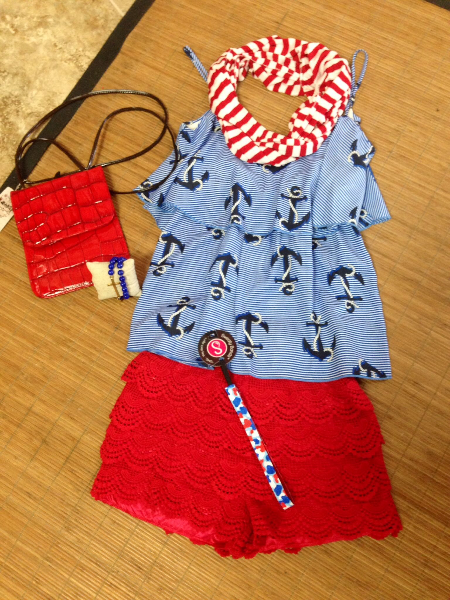 Get ready for the hottest holiday yet! Get your Red/White/Blue on @ That Girl's Boutique!