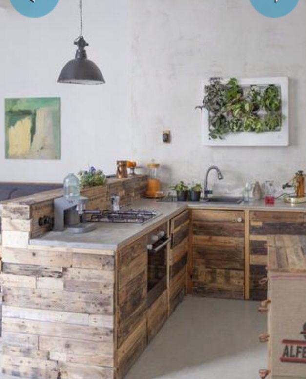 Madera reciclada | Cocinas | Pinterest | Madera reciclada, Reciclado ...