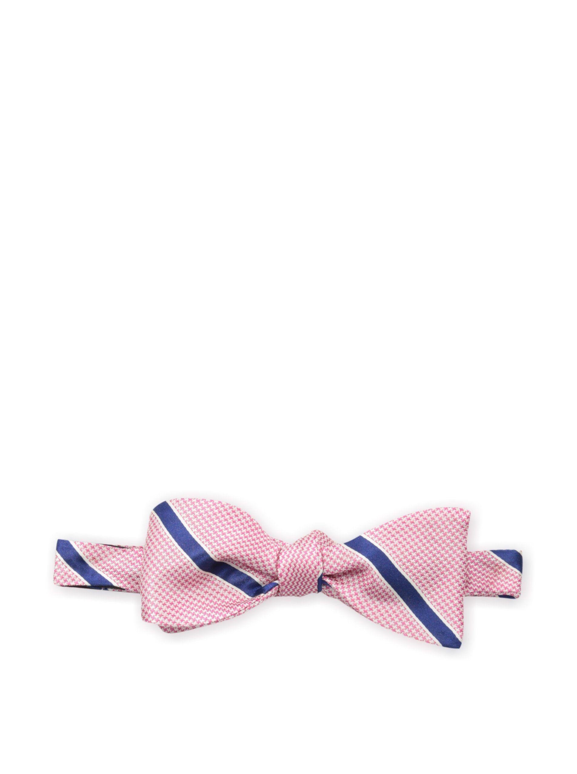 Bruno Piattelli Men's Striped Bow Tie, Pink at MYHABIT