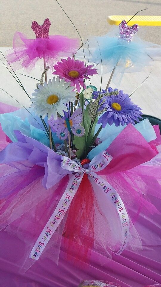 Babyshower · Tutu Centerpiece