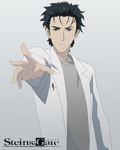 Anime Characters In Their 30s : Okabe steins gate シュタインズ・ゲート
