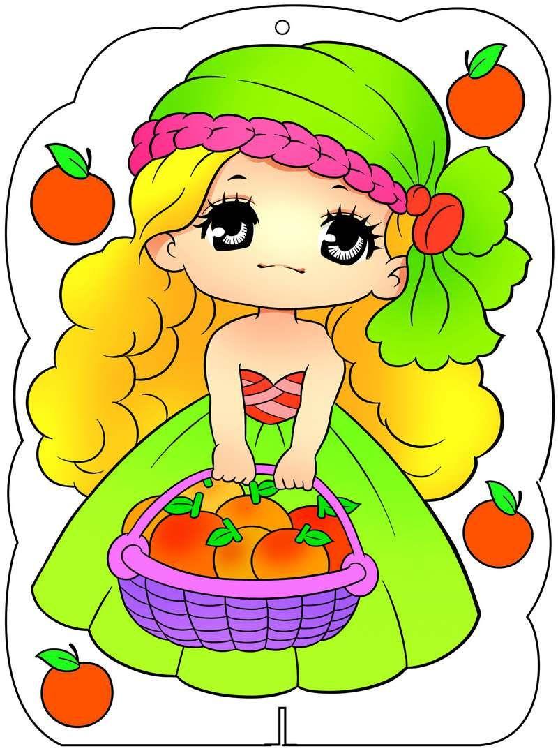 Hình ảnh Công chúa ori trong bộ tranh tô màu công chúa ori xinh đẹp 7