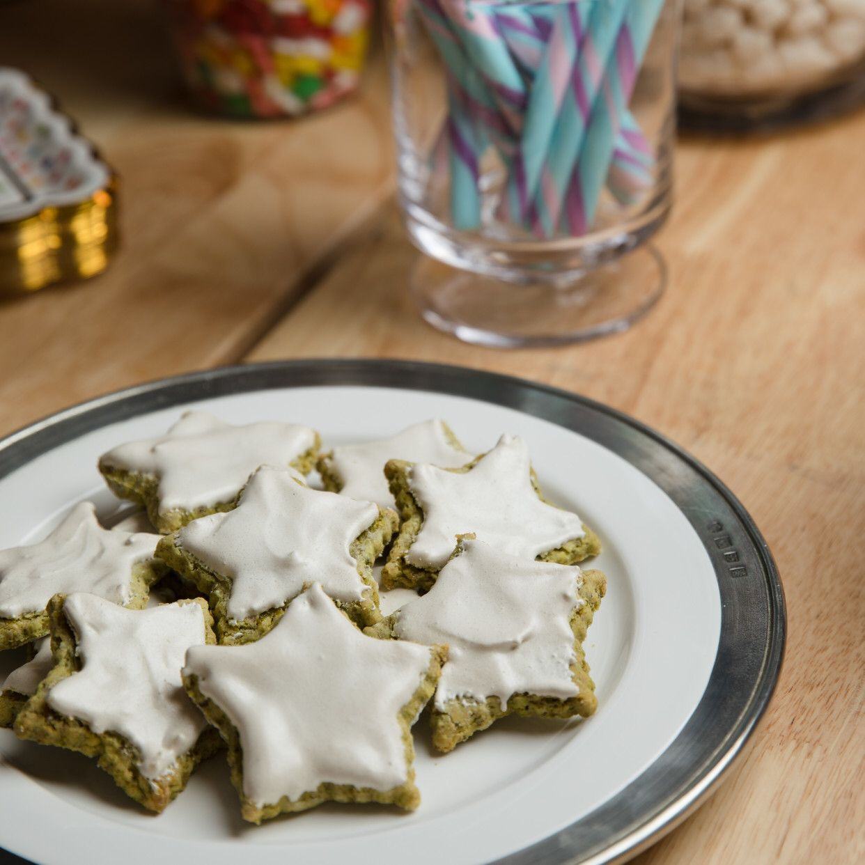 Pistachio Stars Recipe With Images Baked In Vermont Food