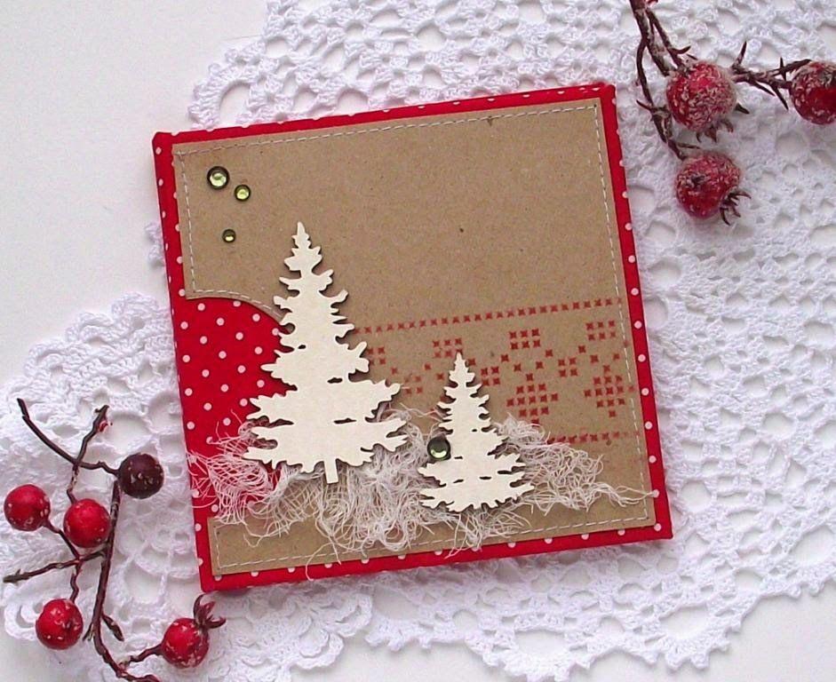 Благодарю, оформление внутренней части новогодней открытки своими руками