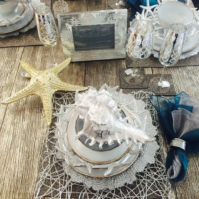 @queenpee's sea inspired table...we love it!