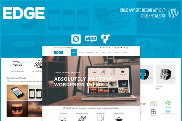 Edge Business WordPress Theme by Visualmodo on @creativemarket ...