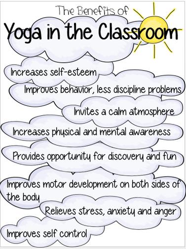 how yoga benefits students