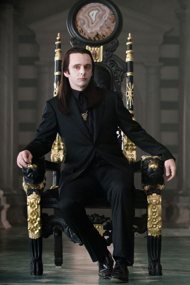 Aro Volturi 4 6 Throne Sit Vampire Twilight Michael Sheen