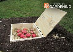 Don't have room to add a full cellar in your back yard? We'll show you how to build a miniature root cellar perfect for storing the produce of a small vegetable garden.