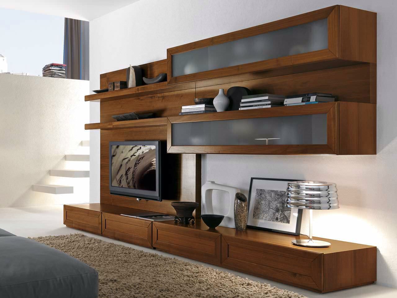 Modern And Contemporary Wall Unit Design | AzMyArch Crappy Site, Really  Pretty Wall Unit. | Dream Home | Pinterest | Wall Unit Designs,  Contemporary And ...
