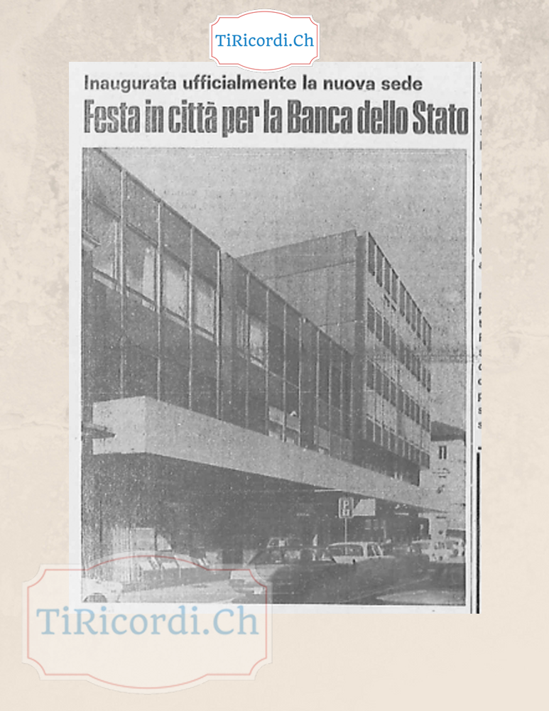 19+ Banca dello stato del cantone ticino information