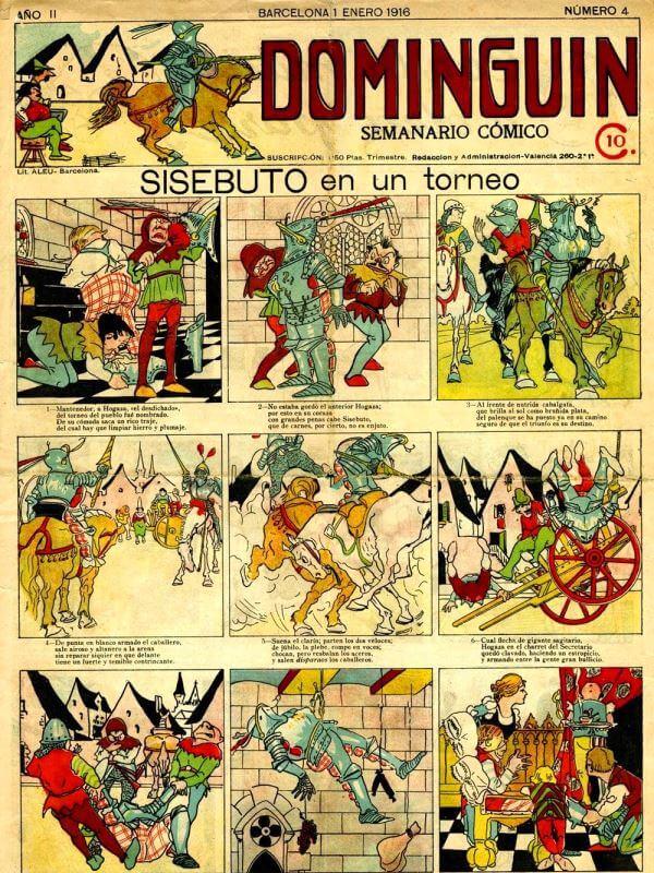 Historia Del Cómic Origen Inventor Y Evolución Historieta Historieta Española Cómic