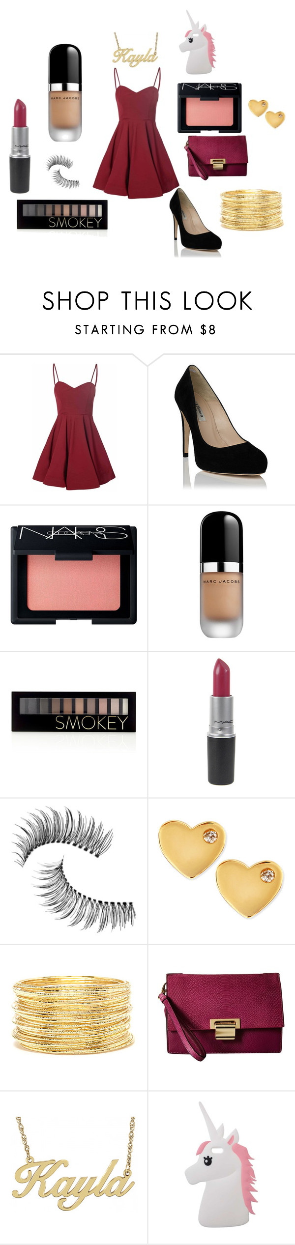 """""""Wedding guest teen"""" by meggieb7 ❤ liked on Polyvore featuring Glamorous, NARS Cosmetics, Marc Jacobs, Forever 21, Trish McEvoy, Sydney Evan, Ivanka Trump, Alison & Ivy and Miss Selfridge"""